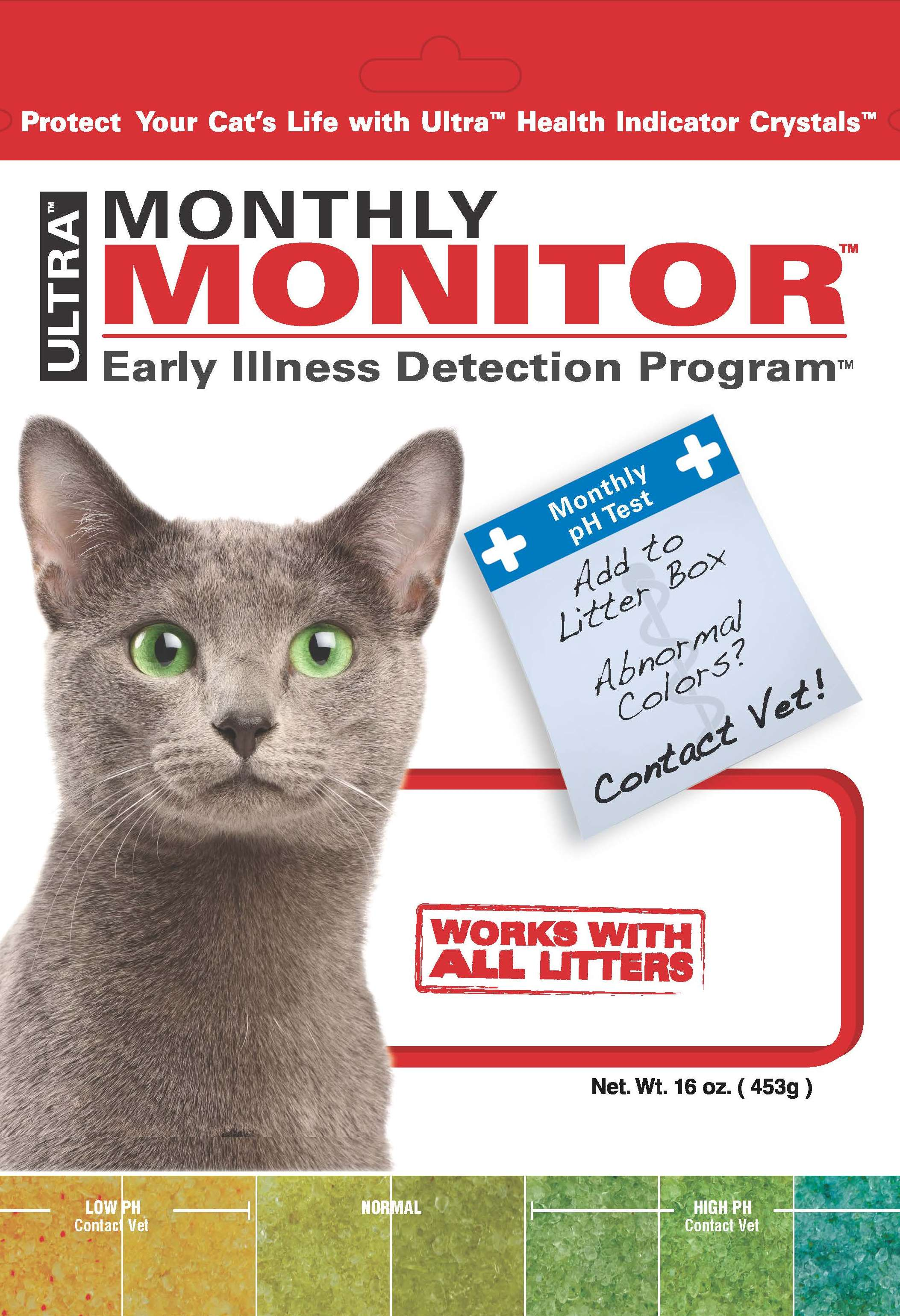 Monthly Monitor Cat Litter